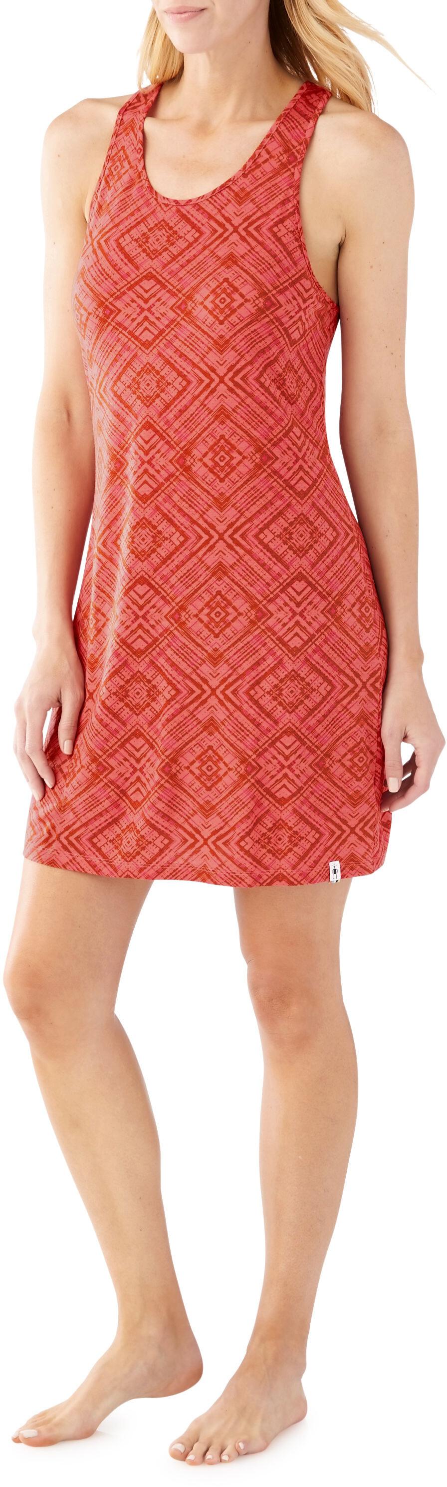 29267e8de17 Smartwool Basic Merino 150 Pattern - Robe Femme - rouge sur CAMPZ !